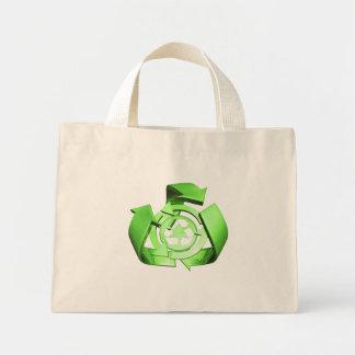 Recycle Mini Tote Bag