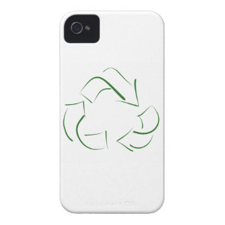 RECYCLE : modern version of the classic image iPhone 4 Case-Mate Case
