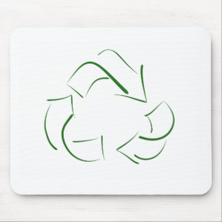 RECYCLE : modern version of the classic image Mouse Pad