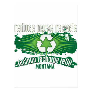 Recycle Montana Postcards