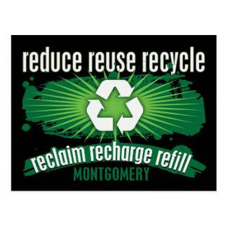 Recycle Montgomery Postcards