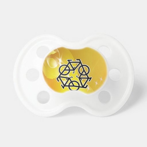 recycle motion of bike and life pacifiers