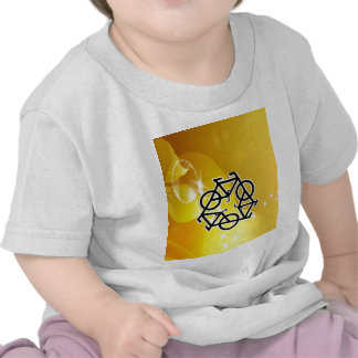 recycle motion of bike and life tshirt