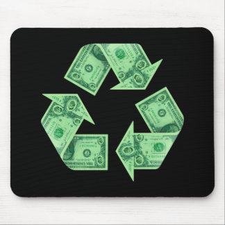 Recycle $ mouse pad