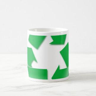 Recycle Classic White Coffee Mug