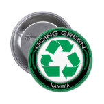 Recycle Namibia Pinback Button