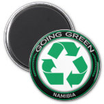 Recycle Namibia Refrigerator Magnets