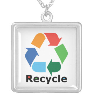Recycle necklace