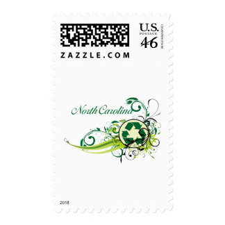 Recycle North Carolina Postage Stamps