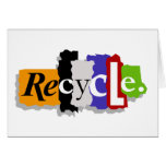 Recycle notecard