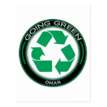 Recycle Oman Post Card