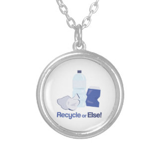 Recycle Or Else Necklaces