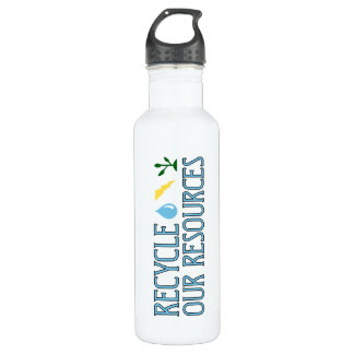 Recycle Our Resources 24oz Water Bottle