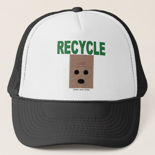 Recycle Paper Bags Trucker Hat