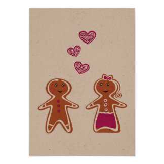 Recycle paper greeting with Cookies Card