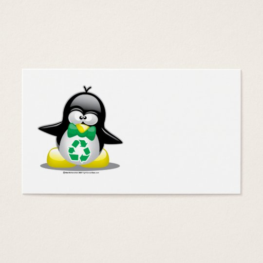 Recycle Penguin Business Card