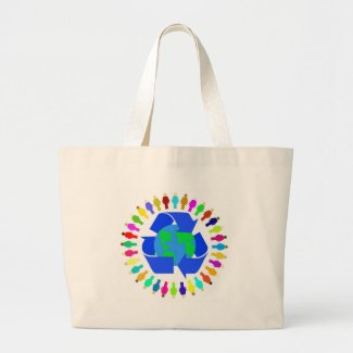 recycle people bag