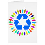 recycle people card