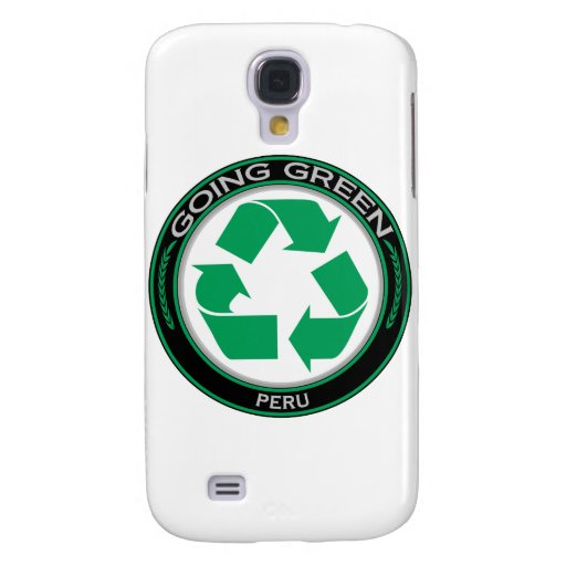 Recycle Peru Galaxy S4 Cases