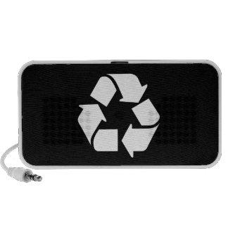 Recycle Pictogram Doodle Speaker
