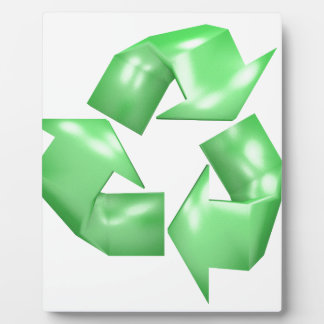 Recycle Plaque