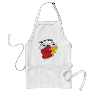Recycle Please Adult Apron