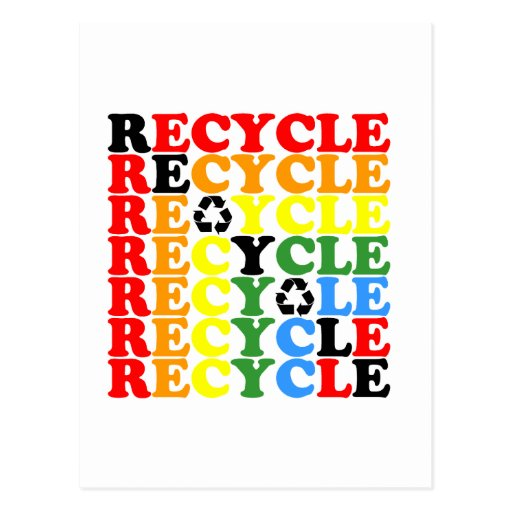 Recycle Post Cards