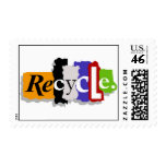 Recycle postage stamps