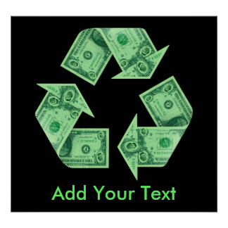 Recycle $ posters