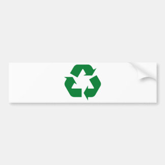Recycle Products & Ecology Designs! Bumper Sticker