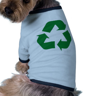 Recycle Products & Ecology Designs! Dog Tee Shirt