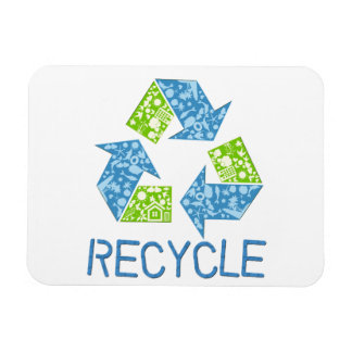 Recycle Rectangular Magnets