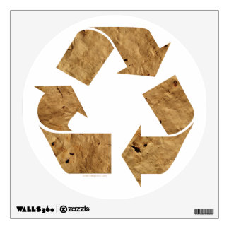 Recycle, Recycling Sign Wall Sticker
