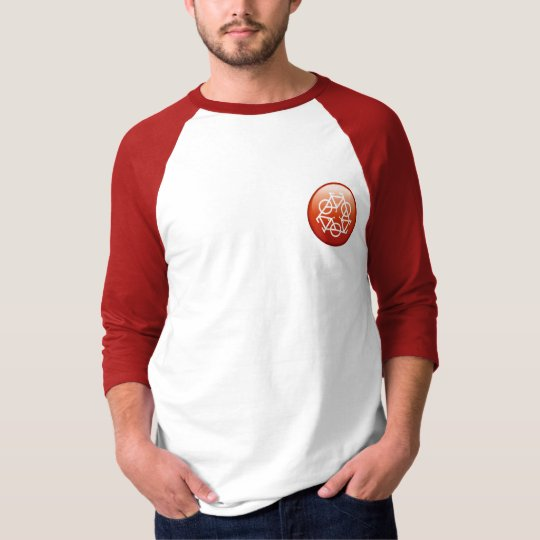 recycle red T-shirt by Petr Kratochvil