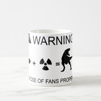 Recycle responsibly classic white coffee mug