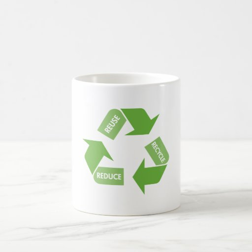 Recycle Reuse Reduce Mugs