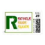 Recycle, Reuse, Reduce Stamps