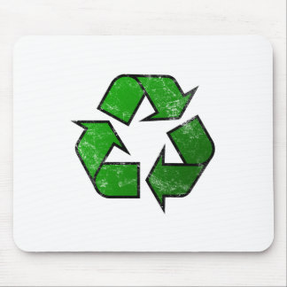 Recycle & Reuse Symbol - Save The Planet Mousepad