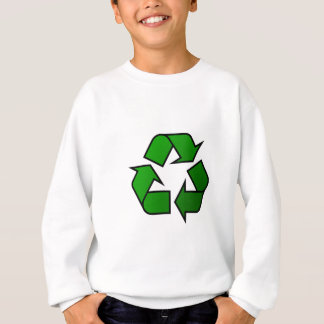 Recycle & Reuse Symbol - Save The Planet Sweatshirt
