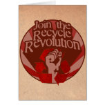 Recycle Revolution Greeting Cards