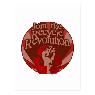 Recycle Revolution Postcard