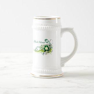 Recycle Rhode Island Beer Stein