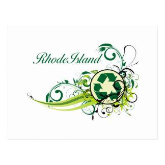 Recycle Rhode Island Postcard
