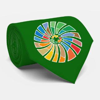 Recycle Sign Art Neck Tie