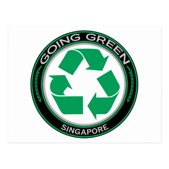 Recycle Singapore Postcard