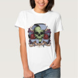 Recycle Skull w/Roses T-Shirt