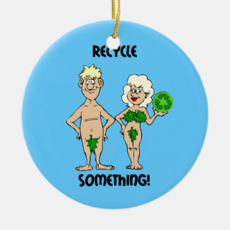 recycle something ceramic ornament