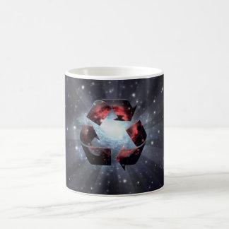Recycle (space) coffee mug