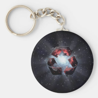 Recycle (space) keychain