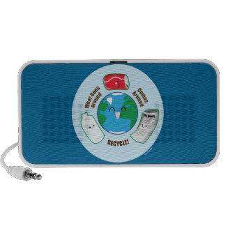 Recycle iPod Speaker
